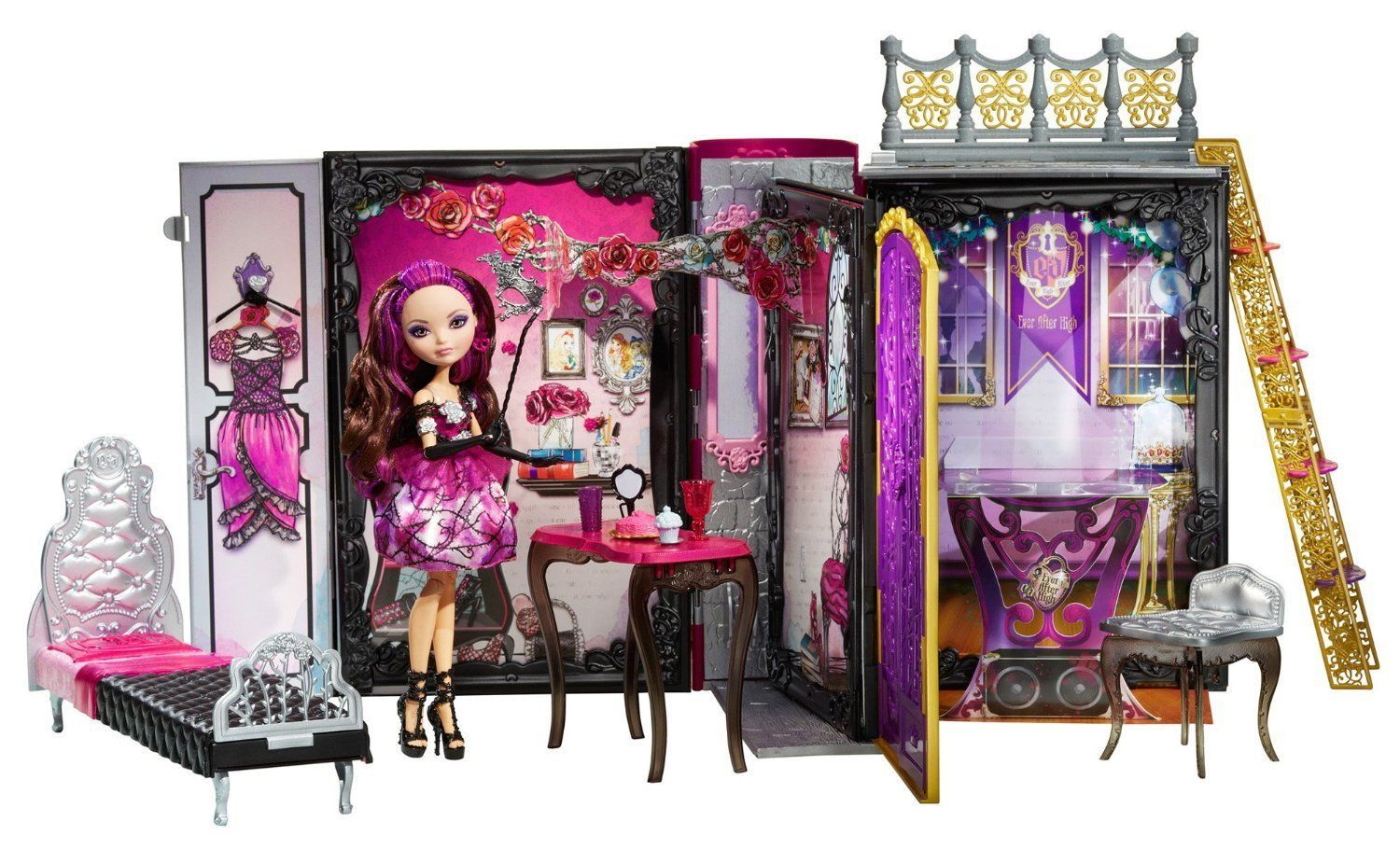 Ever After High Thronecoming Playset & Briar Beauty Doll Ever After High Dolls Briar Beauty Thronecoming